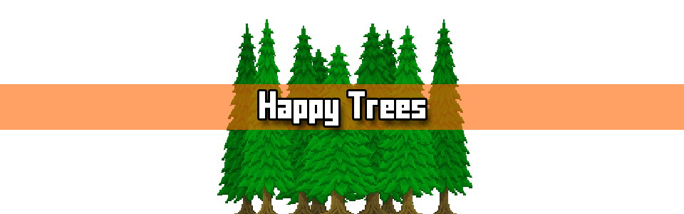Pixel Art Tutorial - Happy Trees Featured Image