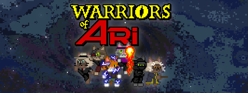 Warriors of Ari Game Cover Banner Official