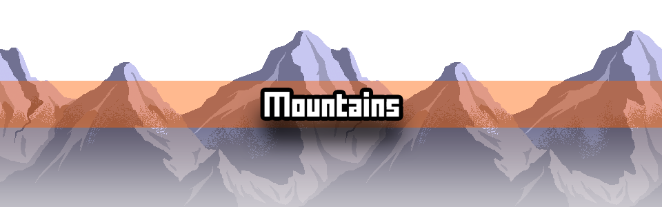 Mountains Pixel Art Tutorial Featured Image