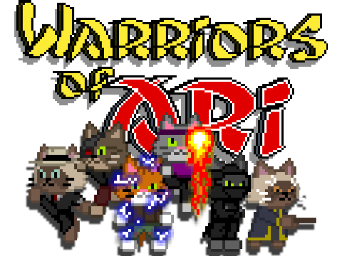Warriors of Ari Official Main Page Banner